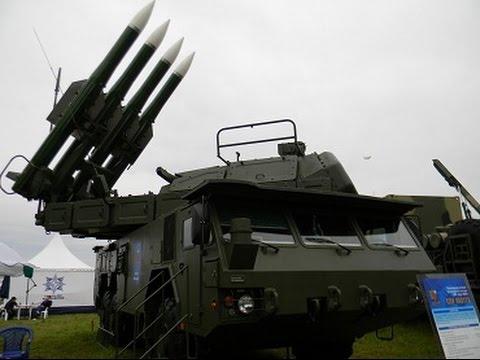 Зенитно-ракетные комплексы Бук-М2 и Бук-М3