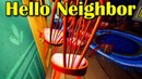 Hello Neighbor Console Ловушки из коробок и стульев в каждом акте