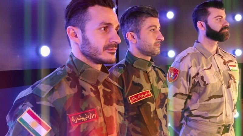 Peshmerge song Bakhtiar Hafzullah - Welat