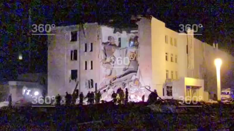 Завод «Авангард» в Гатчине после взрыва