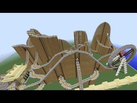 САМЫЙ БОЛЬШОЙ ПАРК АТТРАКЦИОНОВ В МАЙНКРАФТ КАРТА ПРОХОЖДЕНИЕ / THE BIGGEST Minecraft amusement park