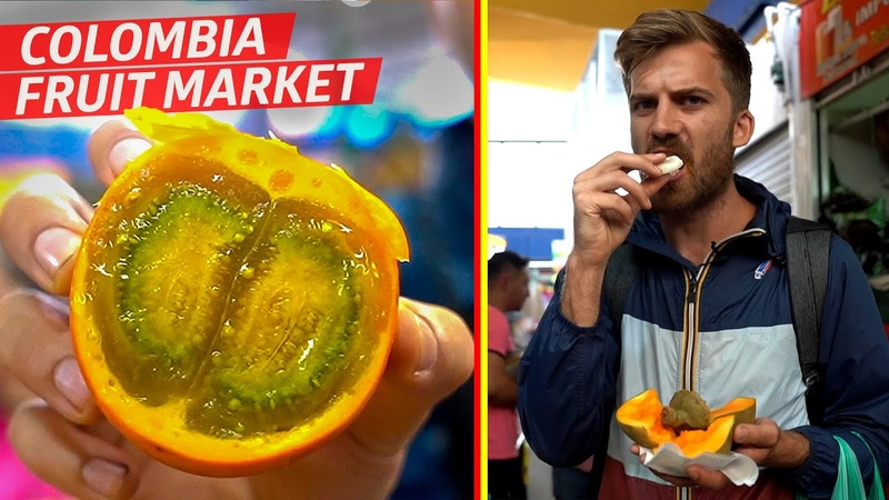 Tasting Some of the Wildest Fruit at Bogotá's Paloquemao Market —Vox Borders