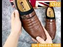 Giày công sở nam simple monk strap CS22 Bí mật hoàng tử quạ Giày da Tino