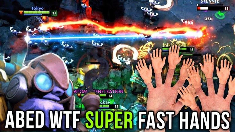 Abed Back on Tinker Again WTF SUPER FAST HANDS Dagon Laser Combo = R I P Dota 2