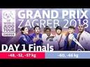 Judo Grand-Prix Zagreb 2018: Day 1 - Final Block