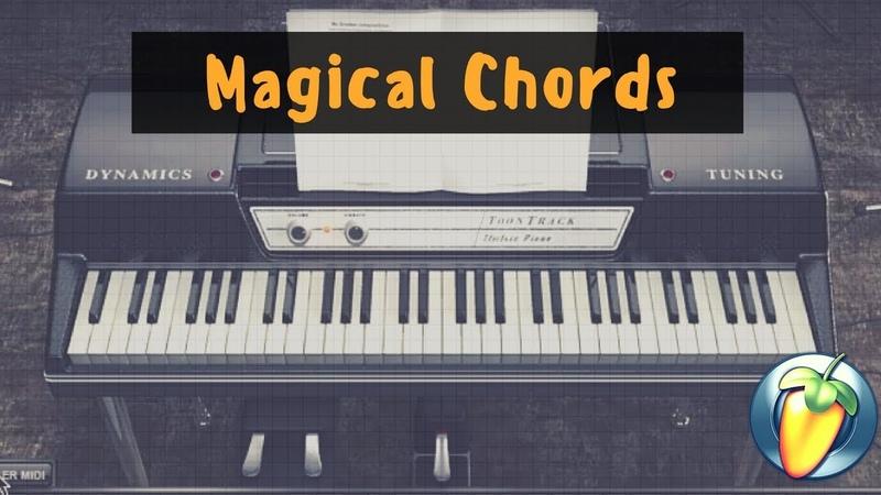 RB Magical Chords - J Cole Kevin's Heart Flip Using FL Studio with Scaler EZ Keys
