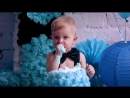 Малыш и торт) 1 годик