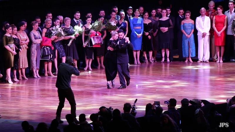 Mundial de Tango 2018, Final Pista, El Baile de los Campenoes, José Luis Salvo y Carla Natalia Rossi