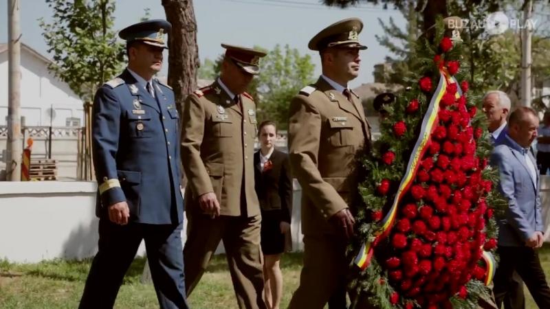 Depunere coroane în memoria ostașilor ruși din Armata Roșie decedați în județul Buzău
