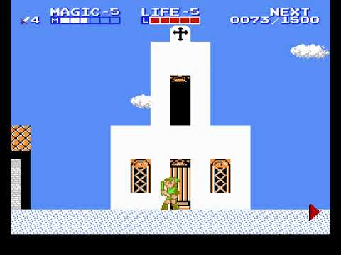 Zelda II: The Adventure of Link - Part 3:Midoro Palace (NES) (By Sting)