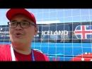 Сам пою Ég á líf на открытой тренировке сборной Исландии пока никто не слышит