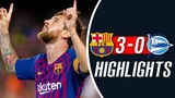 Barcelona Vs Alaves 3-0 - Highlights 2018 HD