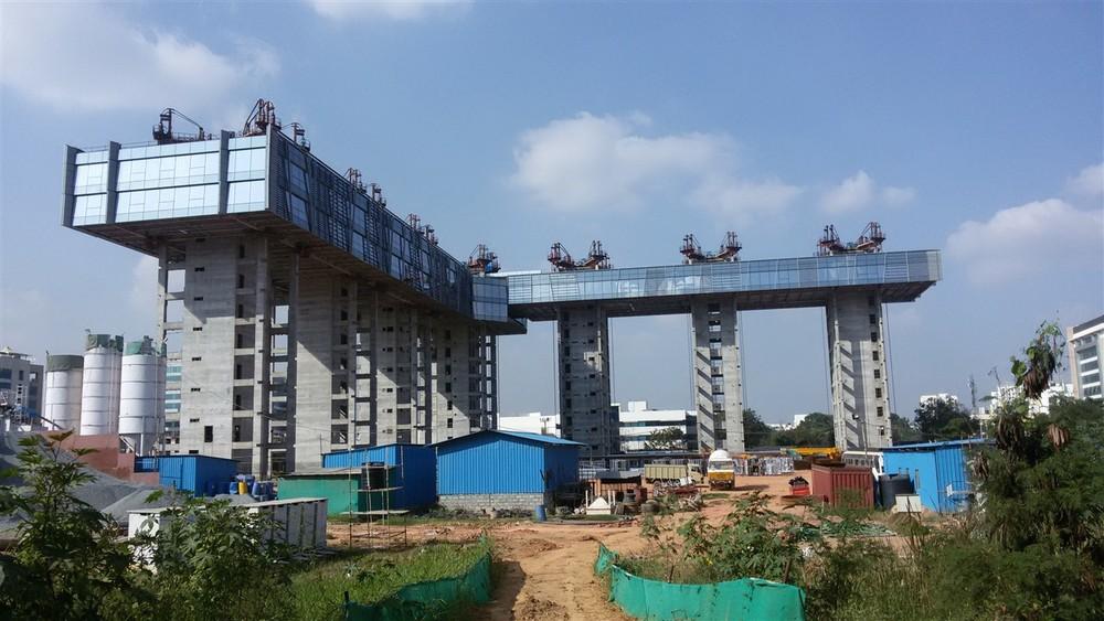 Строительство методом подъема перекрытий возвращается в Индию