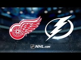 Detroit Red Wings vs Tampa Bay Lightning Oct.18, 2018