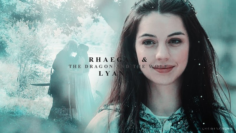 Rhaegar Lyanna | the dragon and the wolf