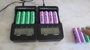 Baterias HP HSTNN CB69 com diferentes 18650 Samsung 22 FU e 26C
