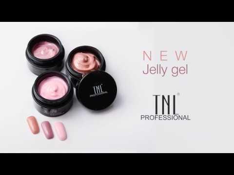 Гель-желе для наращивания ногтей Jelly Gel TNL Professional