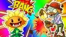 Растения против зомби 2 ПЕРВОБЫТНЫЙ ЗОМБОСС игра как мультик Plants Vs Zombies