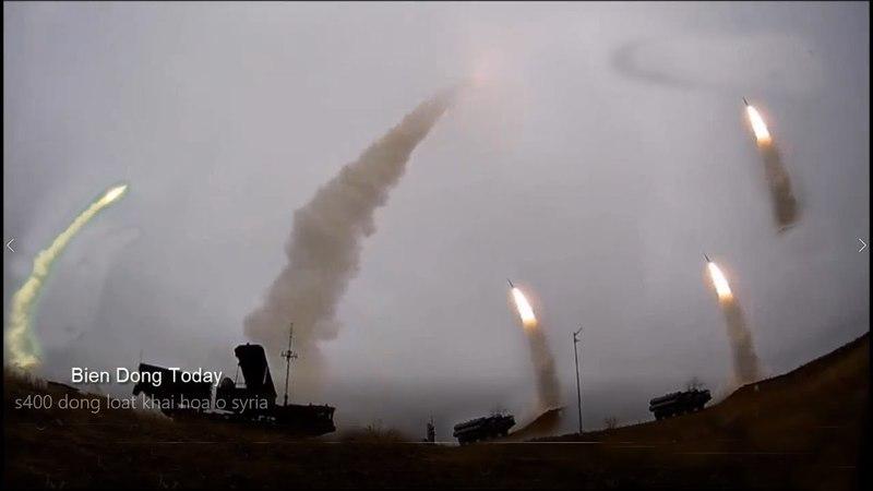 S400 ở Syria đồng loạt KHai H-ỏa Đ-ánh chặ-n tên lửa Mỹ sẽ ra sao?