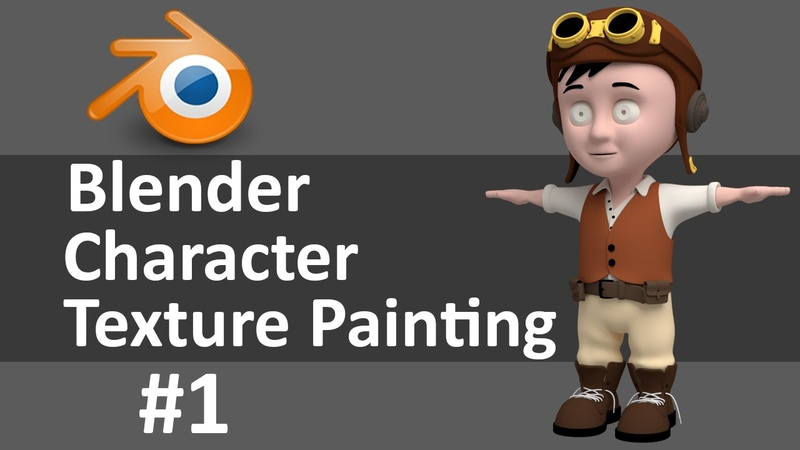 Blender Character Texture Painting 1 of 6
