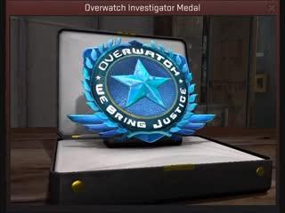 Concept медали за просмотр overwatch\патруль