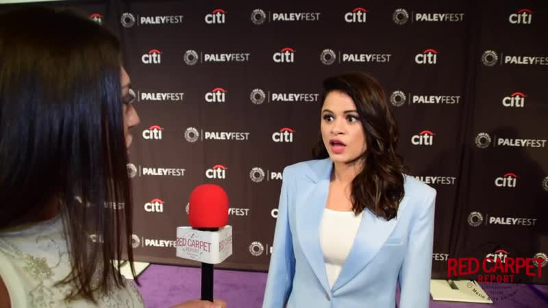 Melonie Diaz interviewed at Charmed's 2018 PaleyFest Fall TV Preview CW PaleyFest