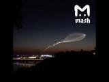 Запуск ракеты со спутником с космодрома Плесецк