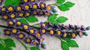 Tutorial Quilling The Violet Flowers - DIY