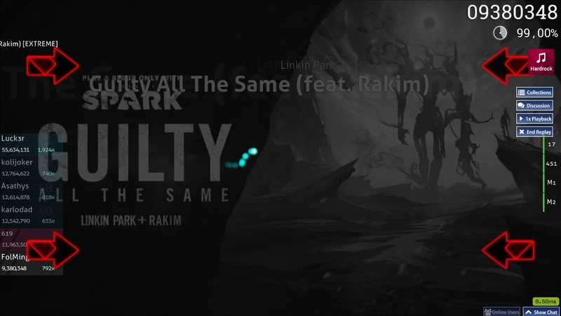 FolMing | Linkin Park - Guilty All The Same (feat. Rakim)[EXTREME]HR