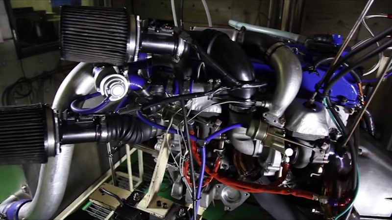 Tomei RB26 Engine Build Dyno.