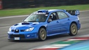 We Took the Subaru Impreza S12 WRC Replica @ Track ONBOARD Straight Pipe BOXER Sounds