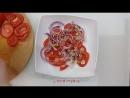 Салат из томата и граната «Неповторимый вкус» — рецепт от Foodman.club
