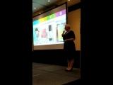 Хелен Шага о продукции компании NHT Global, на презентации Форум успеха в Москве, сентябрь, 2018