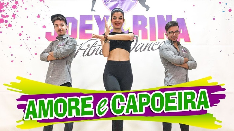 AMORE E CAPOEIRA Coreografia JoeyRina || TUTORIAL || Balli di Gruppo 2018 Line Dance