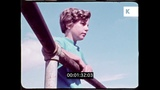 Teenage Boys Throwing Rocks, 70s USA, HD