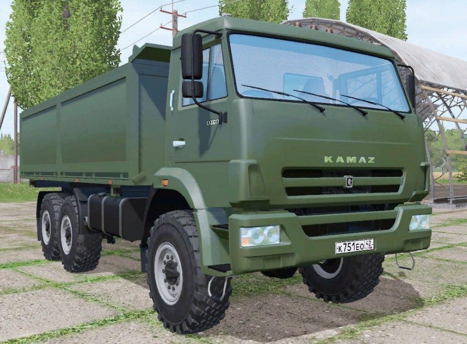 КАМАЗ 43118-24 V1.0
