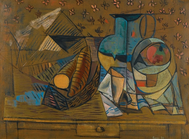 Francisco Bores (Madrid, May 6, 1898 - Paris, May 10, 1972)