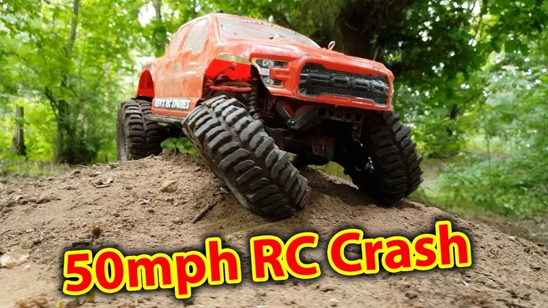 Brushless TRX-4 'Crawler' Hits Tree - EPIC Bash Day with Traxxas X-Maxx, HPI Savage RC Cars