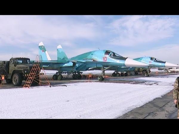 Вторая эскадрилья Су-34 в Челябинской области