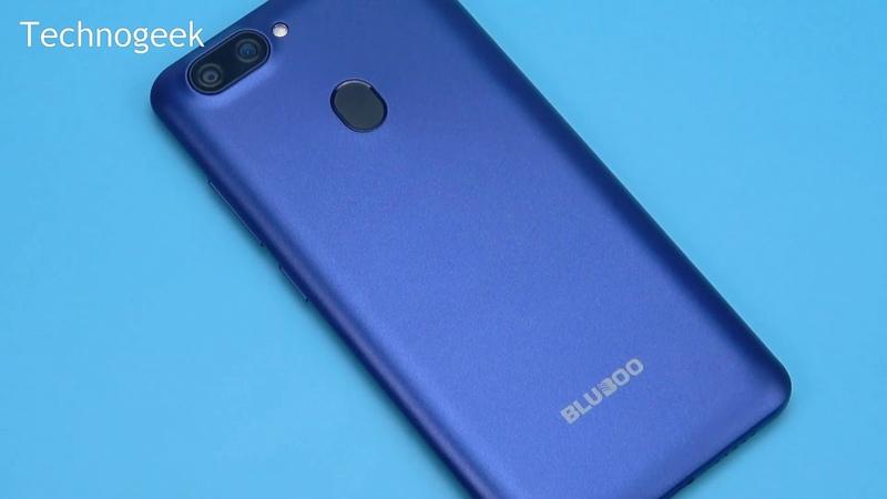 Красавец Bluboo D6 Pro в красном c Android 8 1