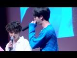 엔진(엔딩진)의 아미밤 삼행시 재도전 180602 팬싸인회 방탄소년단 석진 직캠 BTS Jin focus fancam.mp4