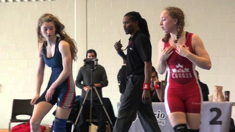 2016 ONT JR Prov FW44kg Augusta Eve (Impact) vs Sarah Coburn (Brock)