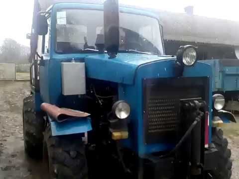 саморобний трактор мости газ 66