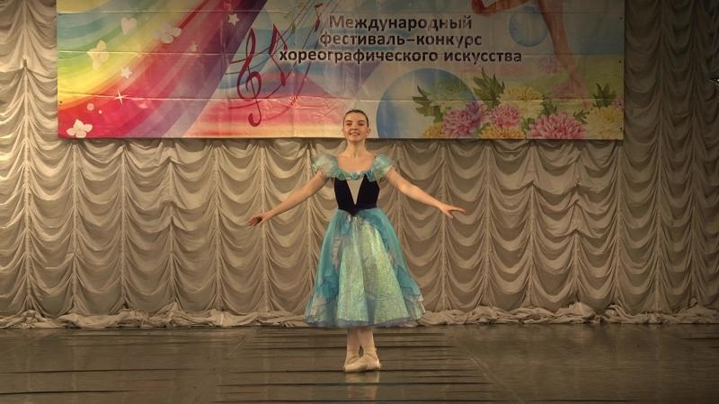 Вариация pas de trois из балета Лебединое озеро