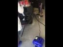 Продувка аппаратом бесконтактной сушки