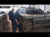 One of a kind Soviet WWII war machines restored by Belarusian 'tank-hunters'