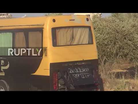 Syria Second group of militants evacuated from Quneitra province