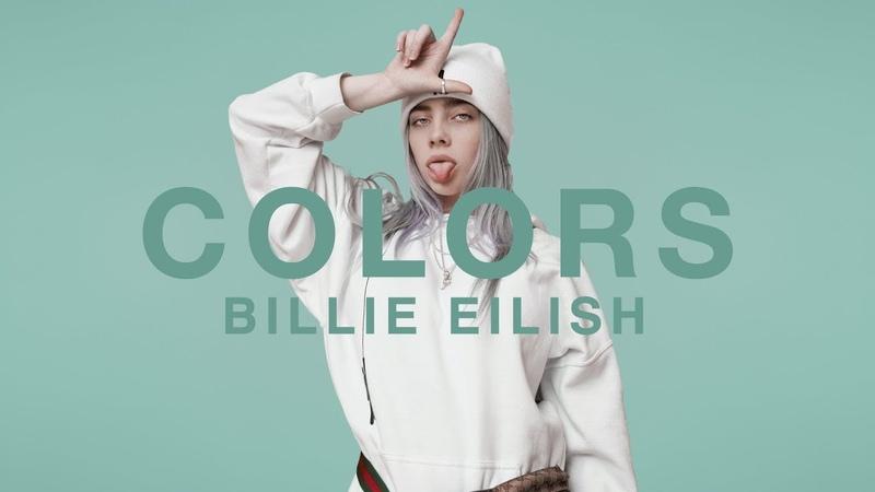 Billie Eilish idontwannabeyouanymore A COLORS SHOW