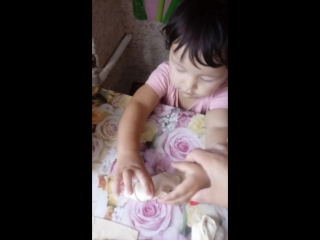 моя доча, моя маленькая помощница😍
