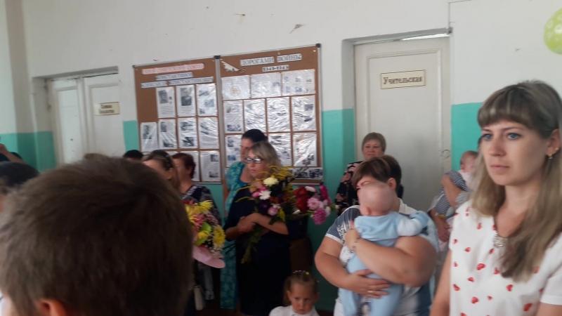 1 сентября 2018 года в Артёмовской школе.